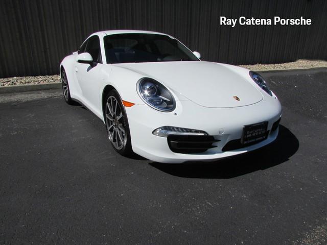 Certified Pre-Owned 2015 Porsche 911 Carrera 4S