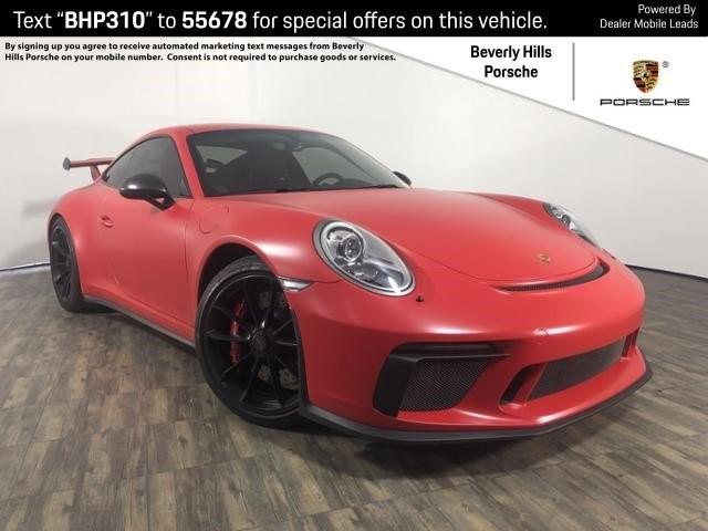 Pre-Owned 2018 Porsche 911 GT3