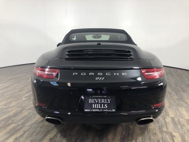 Certified Pre-Owned 2016 Porsche 911 Carrera Cabriolet Black Edition